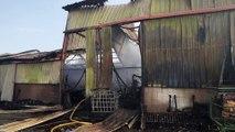 Wambrechies: une scène de désolation après l'incendie de cette nuit à Emmaüs