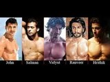 best body in Bollywood John Abraham, Salman Khan, Hrithik Roshan , srk,aamir khan,Who has