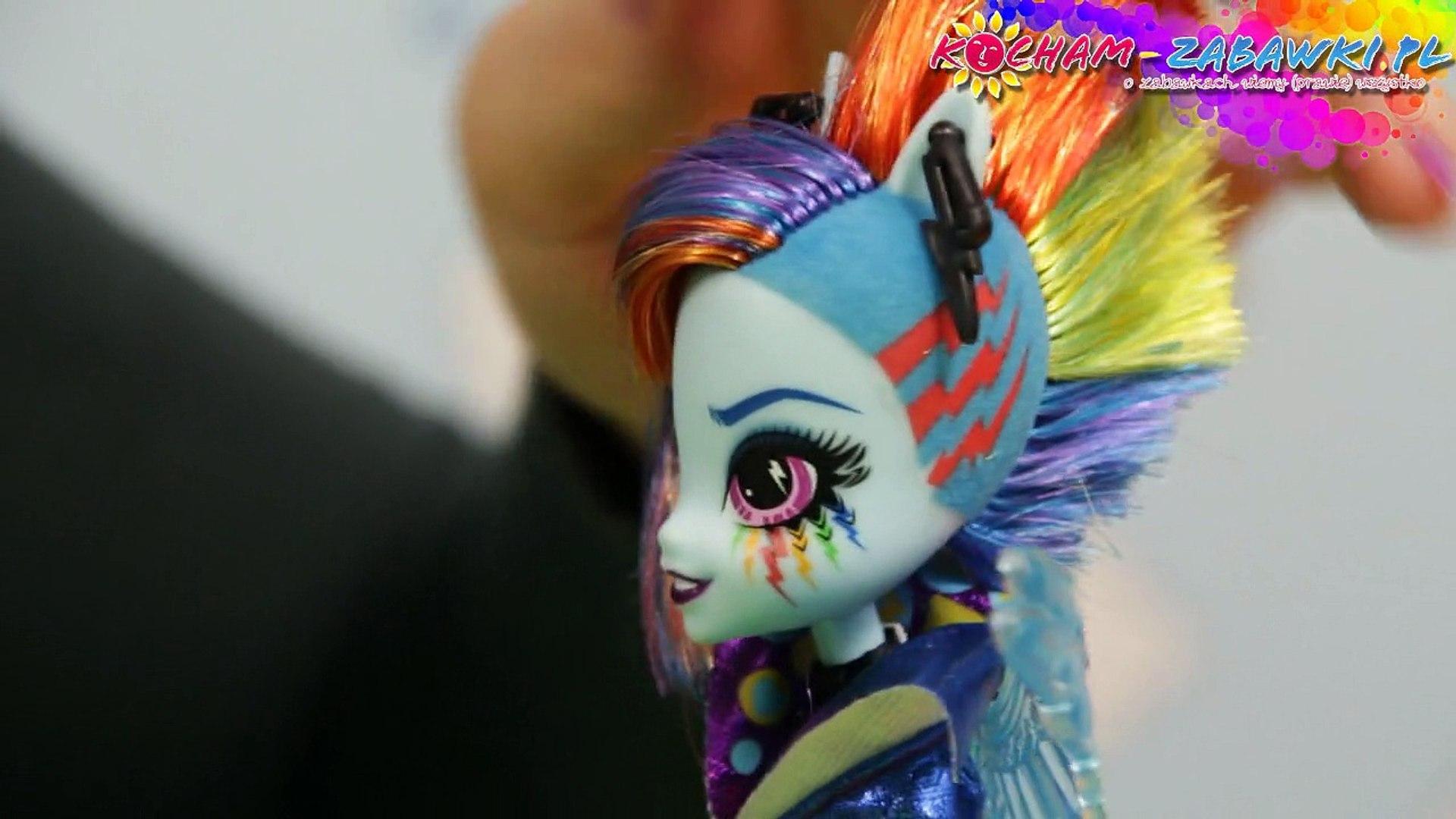 Rainbow Dash Rockin Hairstyle Doll / Stylowa Fryzura Rainbow Dash - Equestria Girls - MLP - B1038 B1