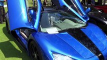 Shelby Supercar SSC Ultimate Aero FASTEST PRODUCTION CAR EVER Start up & drive LOUD