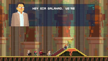 Super Time Force Ultra - More PlayStation Exclusive Characters!   PS4 de Super Time Force Ultra