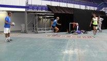 La minute bleue, Fed Cup #CZEFRA : du tennis et du physique