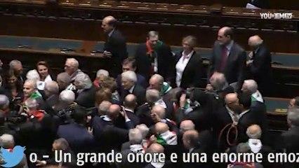 I partigiani alla Camera per i settant'anni della Liberazione