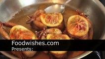 Food Wishes Recipes - Roast Quail with Cured Lemon Recipe - Lemon Roasted Quail