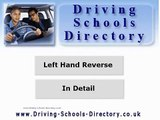 Driving Lessons: Reverse Around a Left Hand Corner
