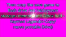 Rayman Legends 700 Tensies Xbox 360 Save (Save Game Save File Saved Game Saved File )
