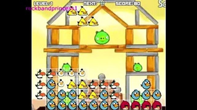 Angry Birds Cartoon Game Angry Birds Free Online Games To Play   Angry Birds Tetris Game4