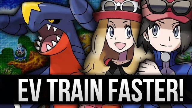 Pokemon X and Y - EV Train Faster than Super Training (EV Training Guide)