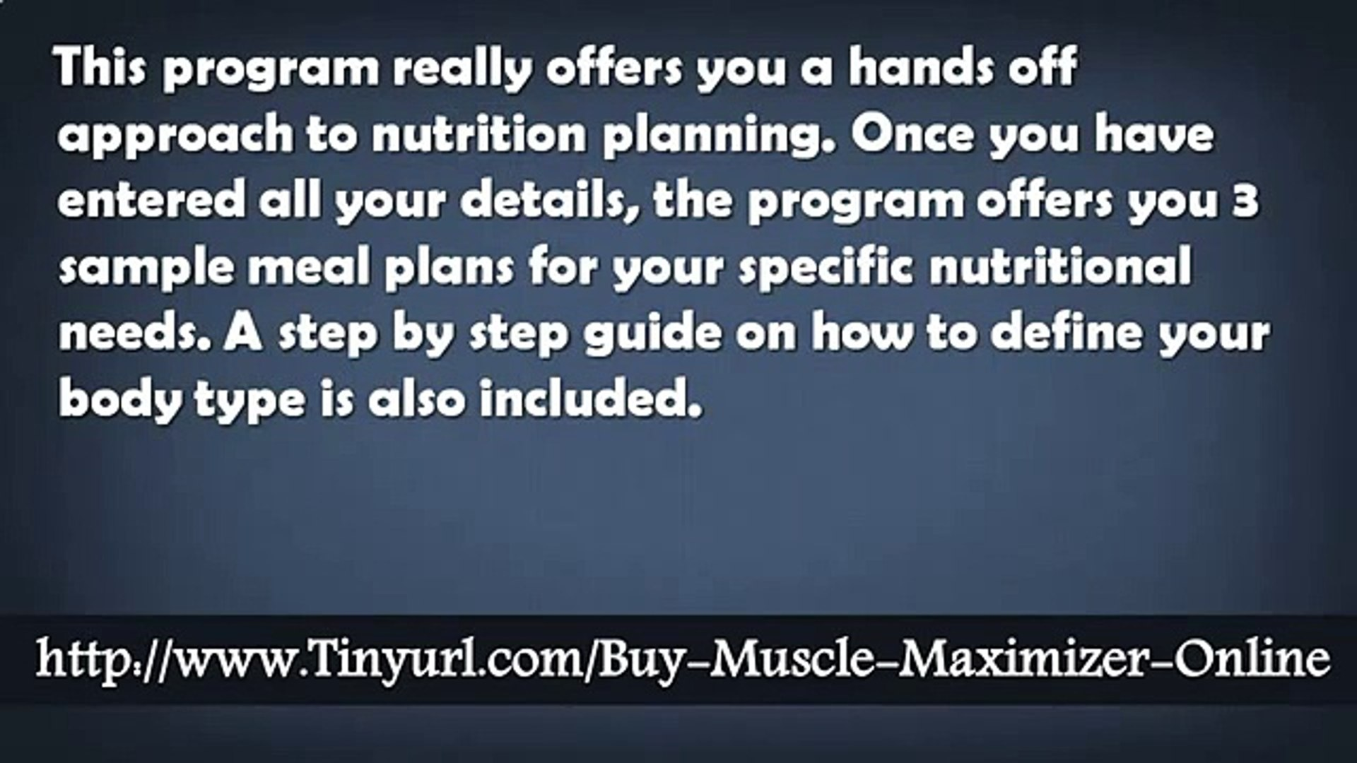 The Muscle Maximizer Training And Fitness Guide - The Muscle Maximizer Works