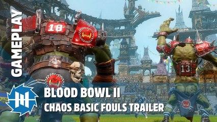 Blood Bowl II - Chaos Basic Fouls Gameplay Trailer