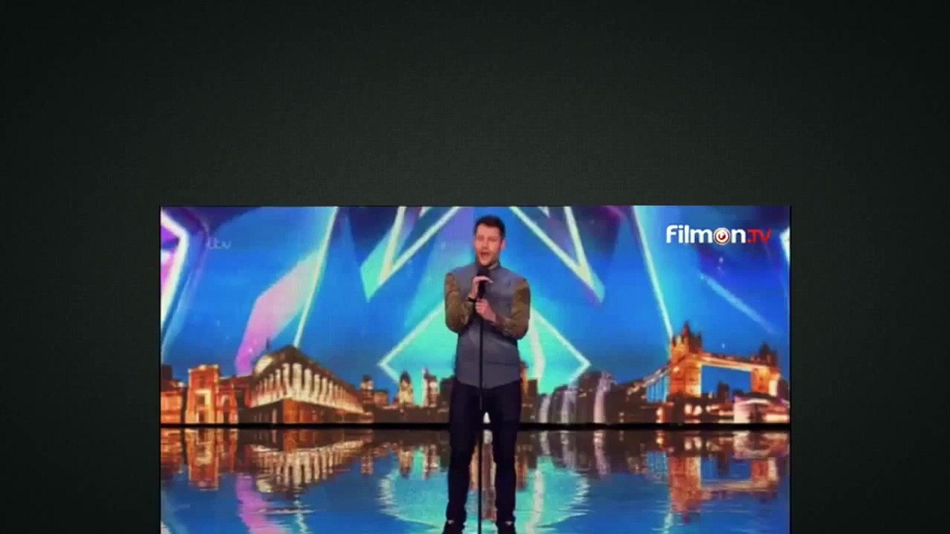 Britain's Got Talent Calum Scott Amazing Golden BUZZER (Plus Reactions) 11 April 2015