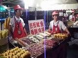 Wangfujing snack street Beijing china  local food