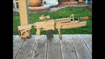 Nerf CO2 powered M203 grenade launcher