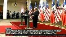 """Obama: """"Chile es una de las """"historias más exitosas"""""""