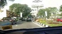 Driving around Bandar Seri Begawan, Brunei