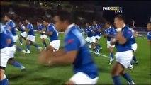 Allblacks VS Samoa Haka's 03/09/2008