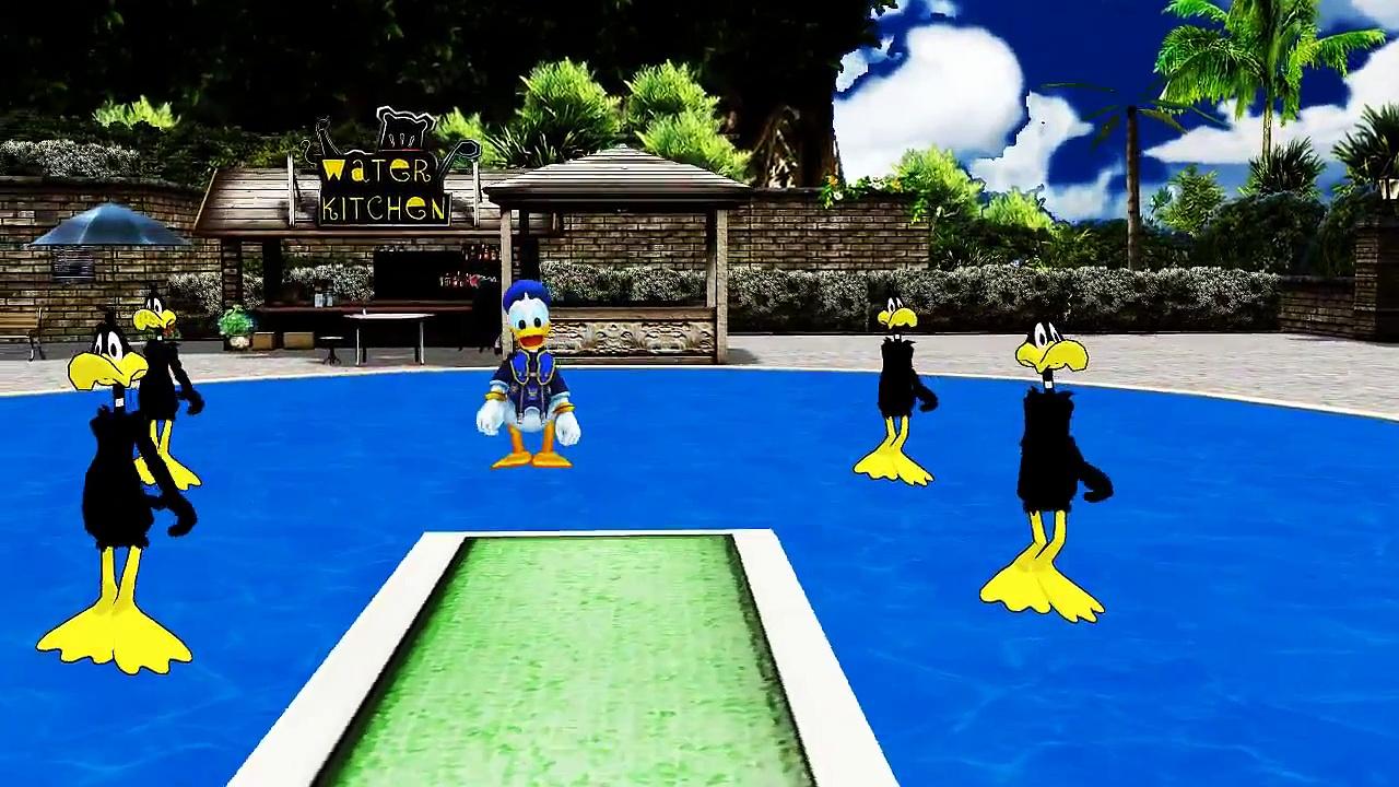 Donald Duck Five Little Ducks Kids song Five Little Ducks