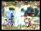 Naruto: Narutimate Hero 3 Drunk Rock Lee vs Shukaku Gaara