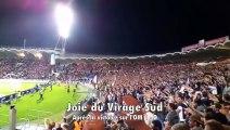 Ambiance Virage Sud Girondins de Bordeaux - Olympique de Marseille (1-0)