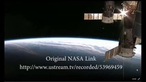 Incredible UFO Sighting Captured By NASA! UFO Visits ISS Watch in HD! 2014
