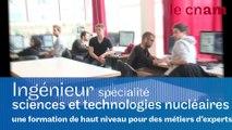 Formation par apprentissage d'Ingénieur spécialité sciences et technologies nucléaires