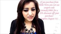 Haifa Wehbe Blue & Purple Arabic Eye Makeup Tutorial