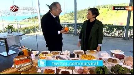 Nur Viral ile Bizim Soframız 17.04.2015 Program Konuğu :Dr.Yavuz Dizdar