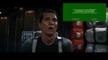 Matthew Mcconaughey devant le teaser de Star Wars the force awakens