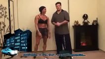 FBB Andrew Bent Over Rows Dumbbell Women body builders Natural bodybuilding Arm