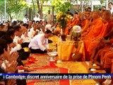 Cambodge: discret 40e anniversaire de la prise de Phnom Penh par les Khmers rouges