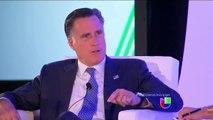 Mitt Romney dice que las acciones ejecutivas dan falsas esperanzas a indocumentados