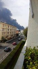 Incendie à La Courneuve