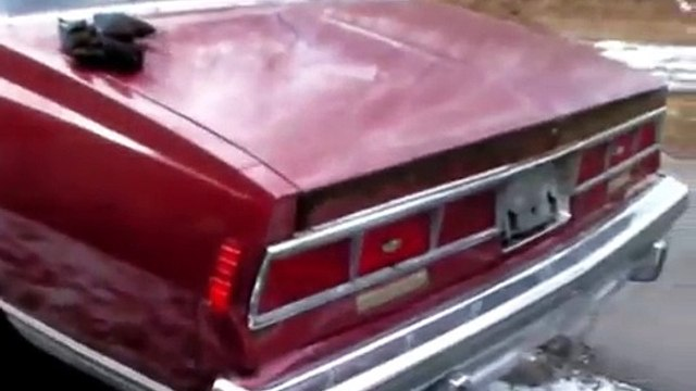 79 Caprice F41 Landau coupe cold start after 2 years