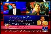 GEO Shahzaib Khanzada Kay Sath with MQM Barrister Muhammad Ali Saif (14 April 2015)