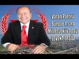 Vatan Partisi Burdur Mv Adayı Levent Ersöz