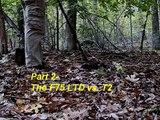 Field Test- F75 Limited Edition Pt. 2. F-75LTD vs. T2 metal detecting, relic hunting