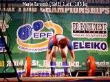 Juniors Women's Deadlift classes: -63 & -74 kg - 2014 European Powerlifting Championships