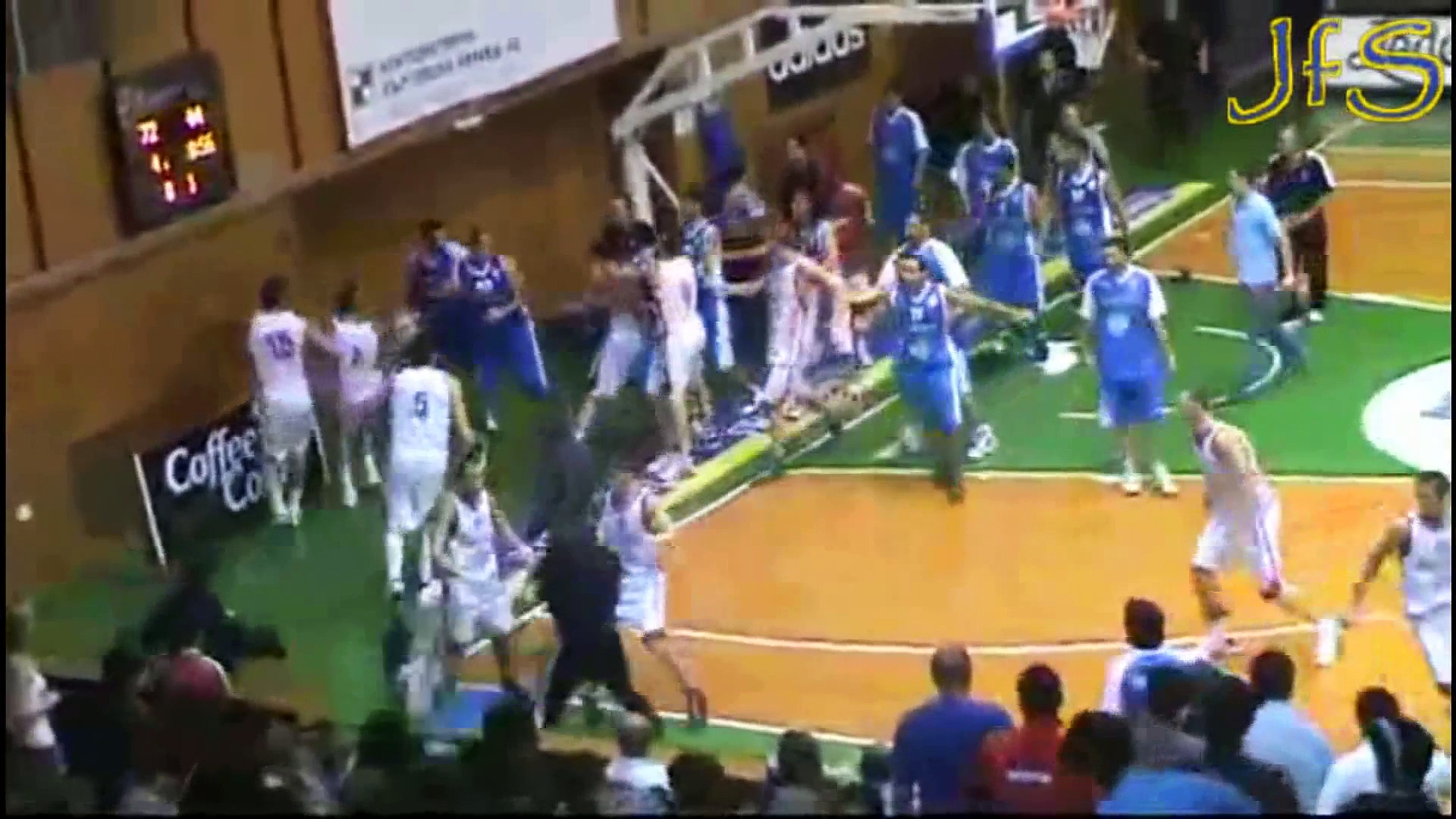 Worst Basketball Fights Ever  HD