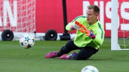 sí entrena Marc-André Ter Stegen con el FC Barcelo