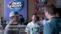 Philadelphia Eagles Fans Dream  - NFL   #UpForWhatever   Bud Light