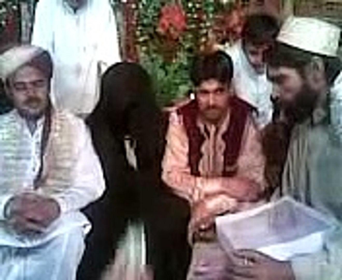 Pakistani Shadi. Beautiful Bride Getting Married. Funny Nikkah . Most Beautiful