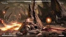 Mortal Kombat X Quick Gameplay scorpion v reptile Fataliy