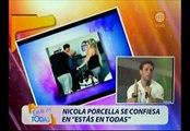 Nicola Porcella explicó por qué viajó con Alejandra Baigorria