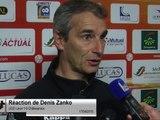 (J32) Laval 1-0 Châteauroux, réaction de D. Zanko