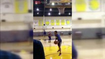 Stephen Curry Hits 77 Consecutive 3-Pointers During Practice _ April 14, 2015 _ NBA 2014-15 Season