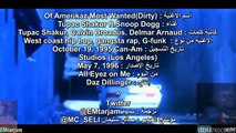 2Pac ft Snoop Dogg - 2 Of Amerikaz Most Wanted (Dirty) مترجم عربي нɒ
