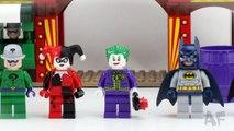 Batman DYNAMIC DUO FUNHOUSE Escape 6857 Lego DC Comics Super Heroes Stop Motion Build Review