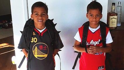 Matt Barnes' Son Chooses Stephen Curry as His Favorite Player