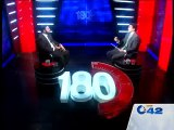 180 Degree President Lahore Bar Association Ishtiaq A Khan With Ahmed Pervaiz City42