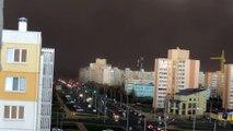 """Tempête de sable en mode """"Fin du monde"""" en Biélorussie! Dingue..."""